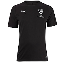 Arsenal 18/19 Casual Performance Black T-Shirt