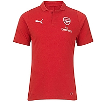 Arsenal 18/19 Casual Performance Red Polo Shirt