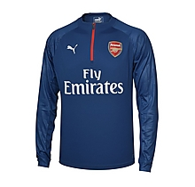 Arsenal 17/18 Away 1/4 Zip Training Top