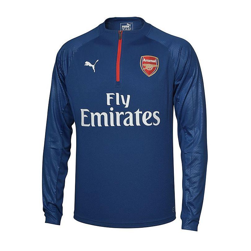 Arsenal 17 18 Away 1 4 Zip Training Top  2ae226edd