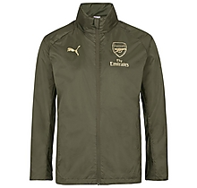 Arsenal 18/19 Green Shower Jacket