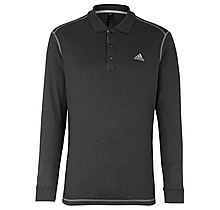 Arsenal Golf Long Sleeve Thermal Polo Shirt