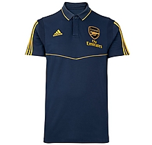 Arsenal Adult 19/20 Blue Polo Shirt
