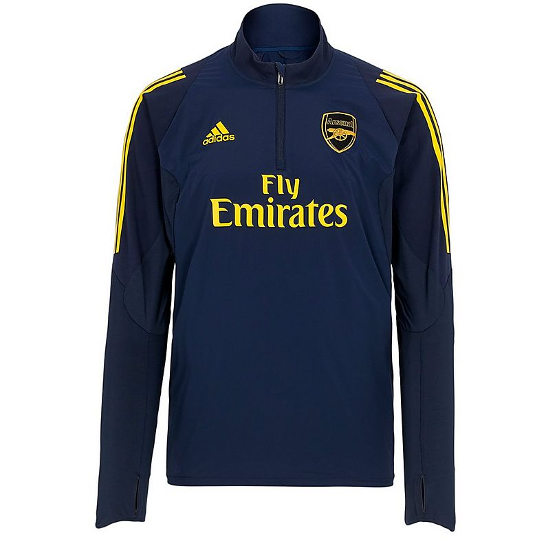 competitive price a0acc bbcfb Arsenal Adult 19/20 1/4 Zip Training Sweatshirt   Official ...