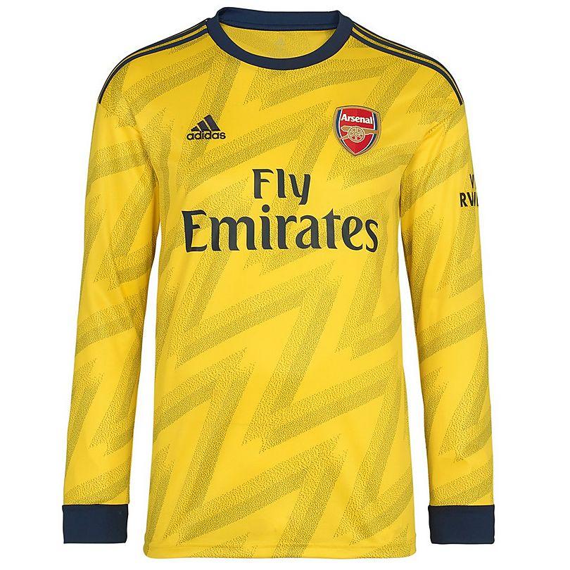 timeless design b55f8 95d78 Arsenal Adult 19/20 Long Sleeved Away Shirt | Official ...