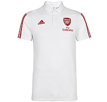 Arsenal Adult 19/20 White Polo Shirt