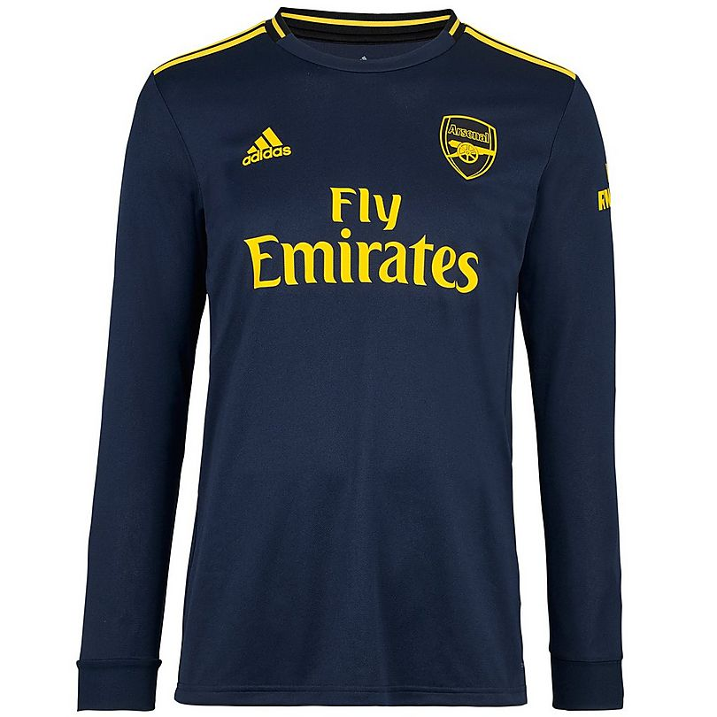 official photos a2c90 41251 Arsenal Adult 19/20 Long Sleeved Third Shirt   Official ...