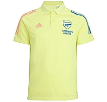 Arsenal Adult 20/21 Yellow Polo Shirt