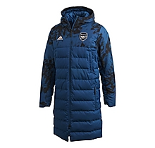 Arsenal Adult 20/21 SSP Long Down Jacket