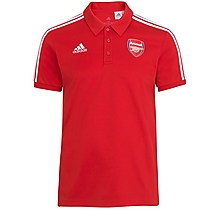 Arsenal 20/21 ID 3 Stripe Polo Shirt