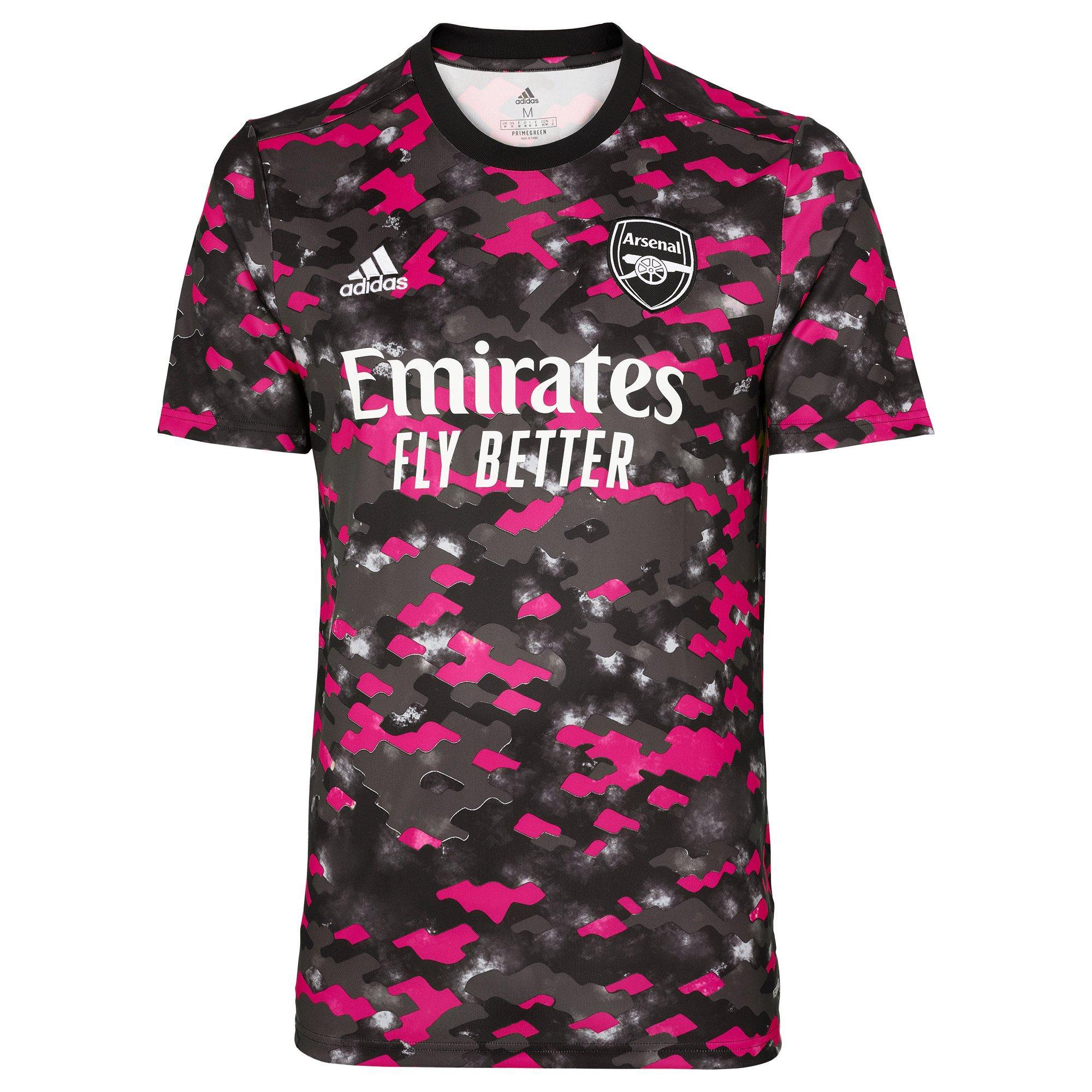Arsenal Adult 21/22 Pre Match Shirt | Official Online Store