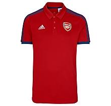Arsenal Adult 21/22 3 Stripe ID Polo Shirt