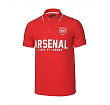 Arsenal Kings of London Red Polo Shirt