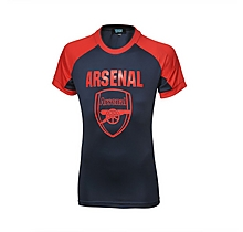 Arsenal Kids Leisure Crest T-Shirt (8-13yrs)