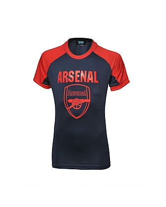 Arsenal Junior Crest Panel T-Shirt