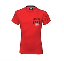 Arsenal Kids Gunners 1886 T-Shirt (8-13yrs)