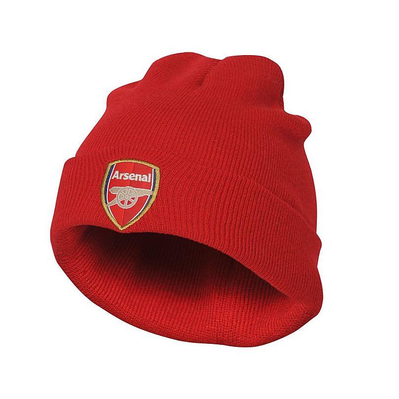 c6daf0482d1 Arsenal Adult Red Bronx Beanie Hat