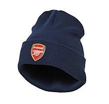 Arsenal Junior Navy Bronx Beanie Hat