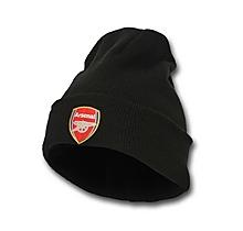 Arsenal Junior Black Bronx Beanie Hat