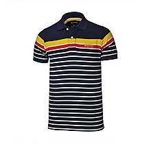Arsenal Stripe Polo Shirt