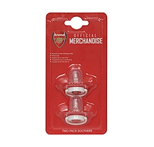 Arsenal 2pk of Soothers