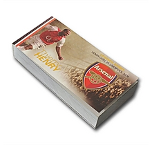 Arsenal Flipbook Legends Series - Thierry Henry