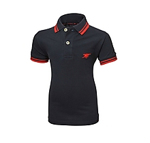 Arsenal Junior Blue Tipped Cannon Polo