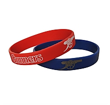 Arsenal 2pk of Wristbands