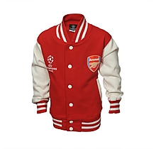 Arsenal Infant Champions League Baseball Jacket