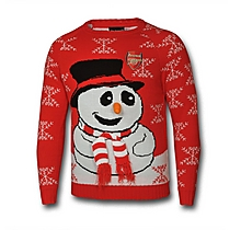 Arsenal Snowman Jumper