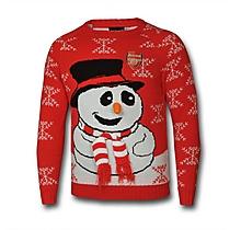 Arsenal Snowman Jumper