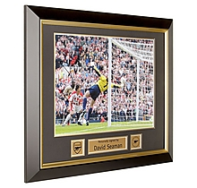 Arsenal Signed and Framed David Seaman Print