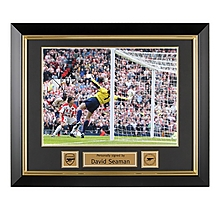 Arsenal Framed Signed David Seaman Print
