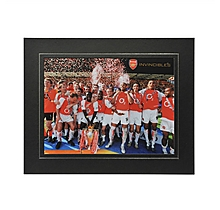 Arsenal Invincibles Mounted Photo