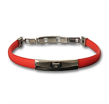 Arsenal Red Rubber Bracelet
