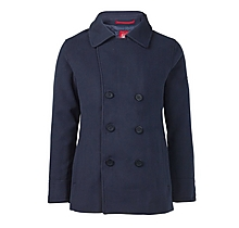 Arsenal Slim Fit Navy Peacoat Jacket