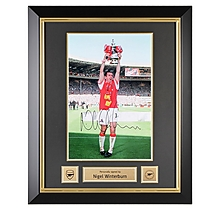 Arsenal Framed Signed Winterburn 1998 FA Cup Final Print