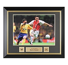 Arsenal Martin Keown Framed Signed 2003 FA Cup Final Print