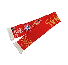 Arsenal 15/16 Champions League Group Scarf