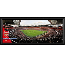 Arsenal Emirates Full Stadium Panoramic Framed Photo