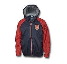 Arsenal Kids Shower Jacket (8-13yrs)