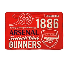 Arsenal Giant Sherpa Fleece Blanket