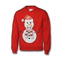 Arsenal Christmas Snowman Sweatshirt