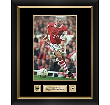 Arsenal Framed Signed Nigel Winterburn Print