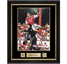 Martin Keown Framed Signed Photo