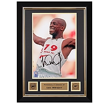 Arsenal Framed Signed Ian Wright 179 Print