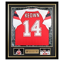 Arsenal Framed Signed Martin Keown 92/94 Home Shirt