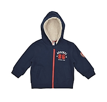Arsenal Babywear Zip Thru Hoody