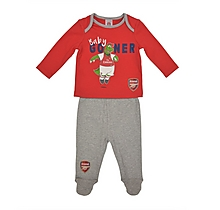 Arsenal Baby Gooner Pyjamas