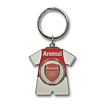 Arsenal Kit Spinner Keyring